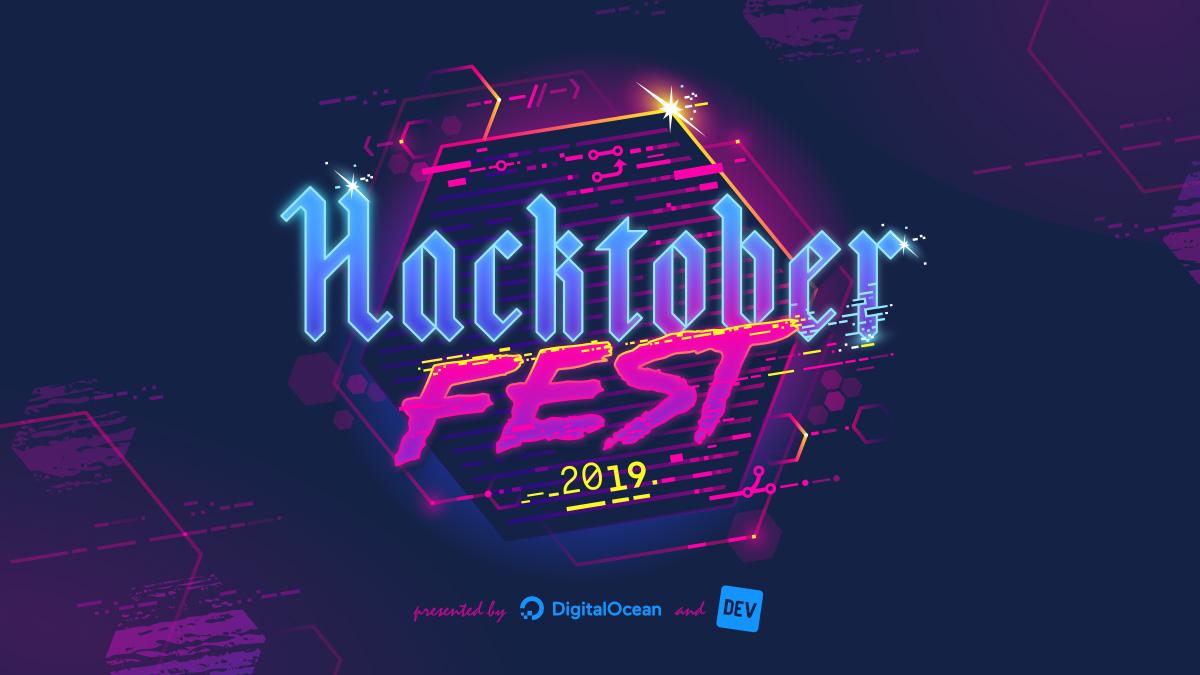 Przygody z Kodem na Hacktoberfest 2019 Logo