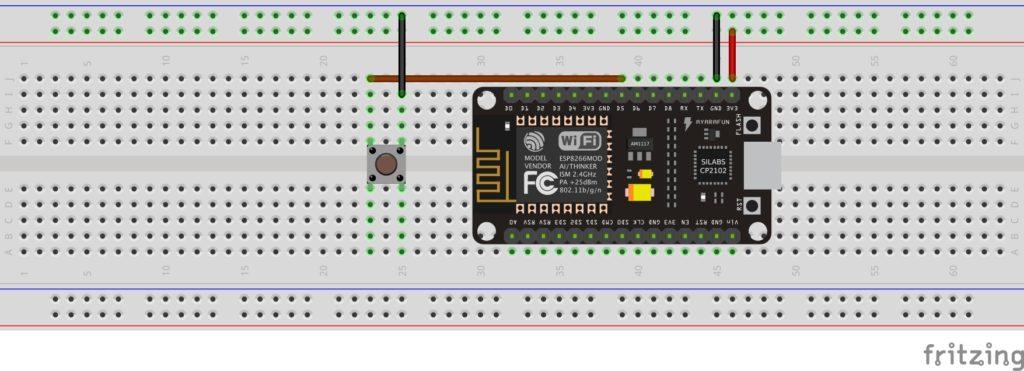 Cyfrowe wejścia i wyjścia w Arduino: podłączanie przycisku na płytce stykowej